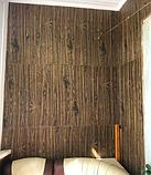 Самоклеюча 3D панель під дерево Темний дуб (в упаковці 10 шт), фото 5