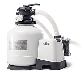 Intex 26676, пісочний насос з хлоргенератором 6000 л/год, хлор 7 м/ч