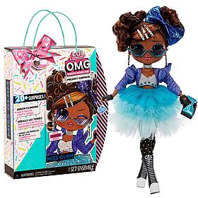 Кукла L.O.L. Surprise! OMG Present Surprise Miss Glam ЛОЛ Сюрприз ОМГ Именинница 576365