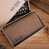 Гаманець Muzee ME1006 Coffee, фото 5