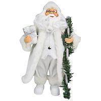Дед Мороз с посохом, 30,5 см, F05W-RBW-S1A12ST