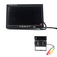 9-дюймовий HD автомобільний РК-дисплей на одну камеру, 24V, розширення 420TVL, кут лінзи 120 °