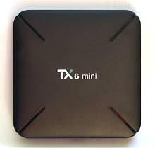 Медіа приставка TX-6 mini 2 / 16G Smart TV Box (Android 9.0, ОЗУ 2 Гб, 16Гб вбудованої пам'яті, 4-х ядерний