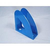 Лоток для паперів Economix вертикальний Веселка, пластик, блакитний