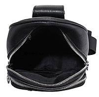 Чоловічий шкіряний рюкзак на одне плече Tiding Bag SM8-811A, фото 2