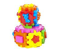 Куби-сортери (шестигранник+кубик), 2шт (10шт/уп) Кіндервей