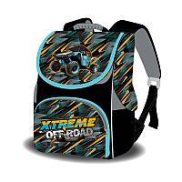 Ранець-короб ортопедичний, Xtreme off-road,33*26*26см, Space, В.