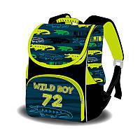 Ранець-короб ортопедичний, Wild boy 72, 33*26*26см, Space, Ст.