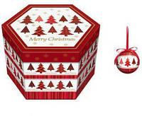 Шары новогодние, в подарочной упаковке 14шт. (HK937)