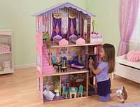 Кукольный домик для Барби с мебелью Особняк мечты KidKraft 65082
