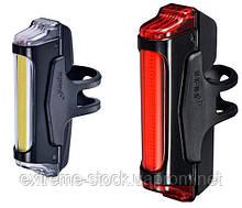 Комплект мигалок Infini SWORD I-461WR1-Black, 5 режимів, USB кабель, с крепл.