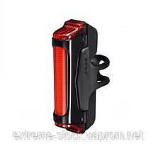 Мигалка задня Infini SWORD I-461R1-Black, 30 діодів, 5 режимів, USB кабель, с крепл.