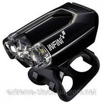 Мигалка передня Infini LAVA I-260W-Black, 2 світлодіода, 4 режиму, USB кабель, с крепл.
