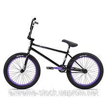 Велосипед 20 Stolen SINNER FC XLT LHD 21.00 2021 BLACK W/ VIOLET