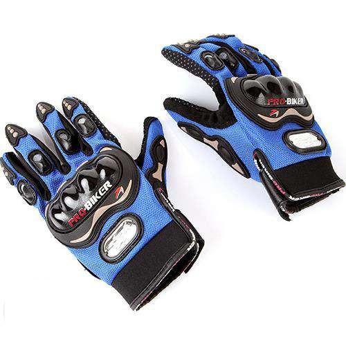 Мотоперчатки Probiker Summer Blue