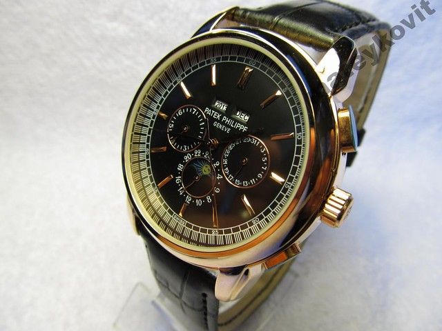 Мужские часы *Patek Philippe* GENEVE *механика