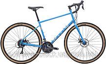 Велосипед 28 Marin FOUR CORNERS 2020 Gloss Blue/Dark Blue/Tan L