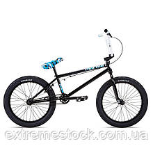 Велосипед 20 Stolen STEREO 20.75 2021 BLACK W/ SWAT BLUE CAMO