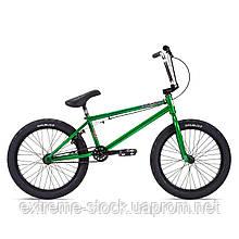Велосипед 20 Stolen HEIST 21.00 2021 DARK GREEN W/ CHROME