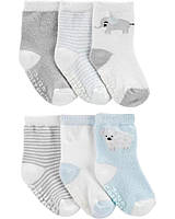 Набір дитячих шкарпеток 6 пар Картерс для хлопчика