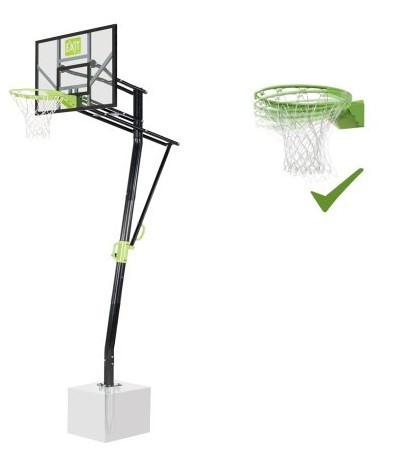 Баскетбольна стійка EXIT Galaxy + кільце з амортизацією
