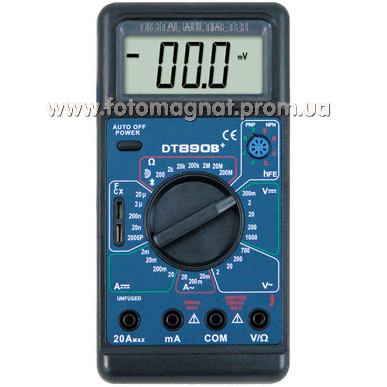 Тестер 890 D(тестер мультиметр)