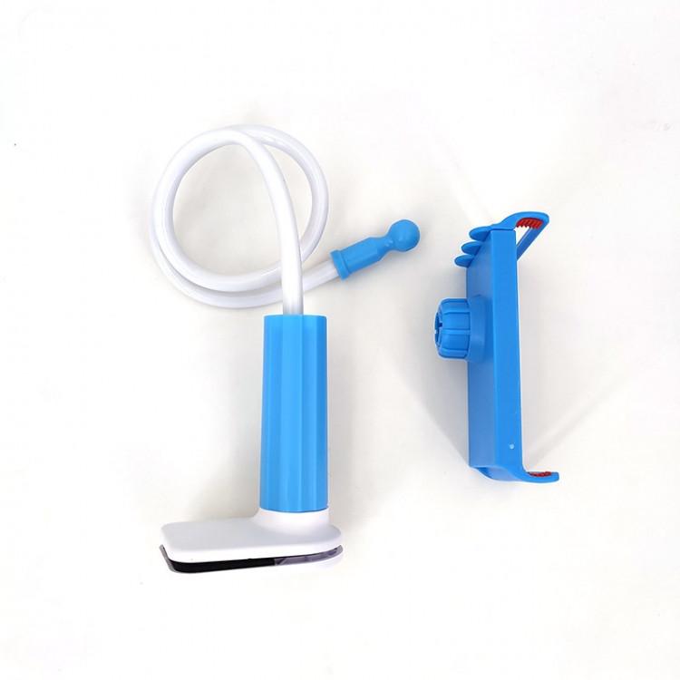 Держатель для телефона с креплением к столу (голубой)