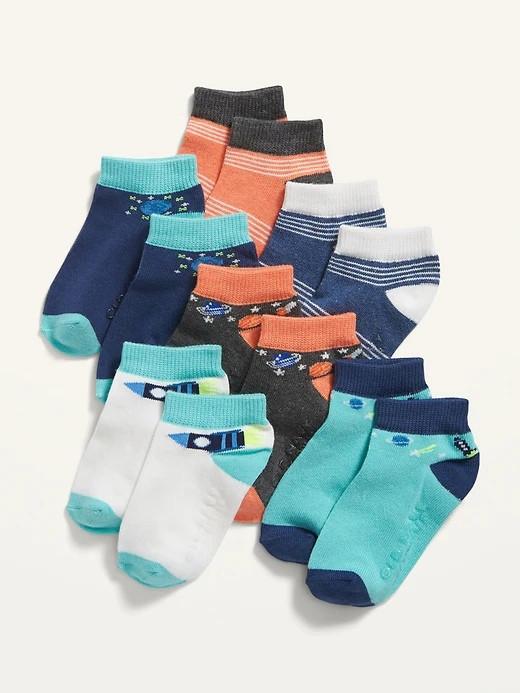 Набір демісезонних 6 пар шкарпеток Космос Олд Неві для хлопчика