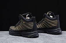 Зимние мужские кроссовки 31773, Columbia Contagrip, зеленые [ нет в наличии ] р.(41-26,5см), фото 3