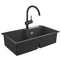 Набір Grohe мийка кухонна K500 31649AP0 + змішувач Minta 32917KS0