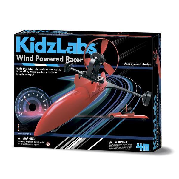 Собери гоночную машину на энергии ветра 4M (00-03437)