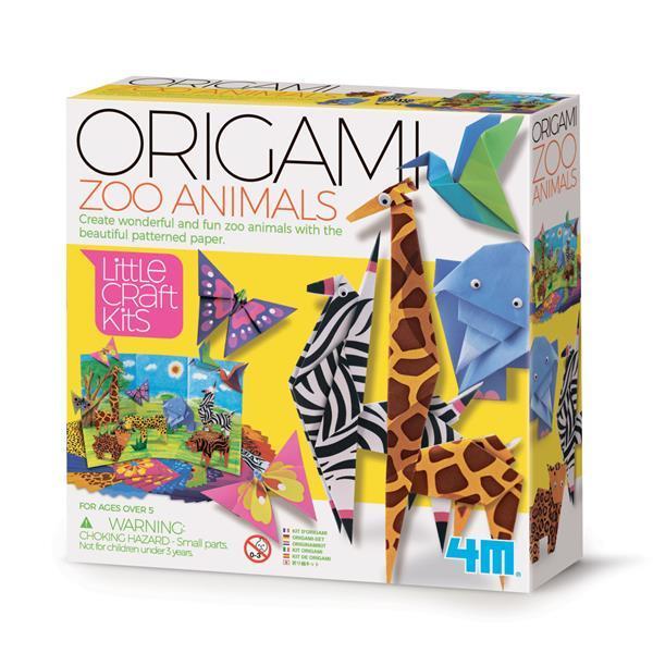 Набор для оригами Зоомир 4M (00-04764)