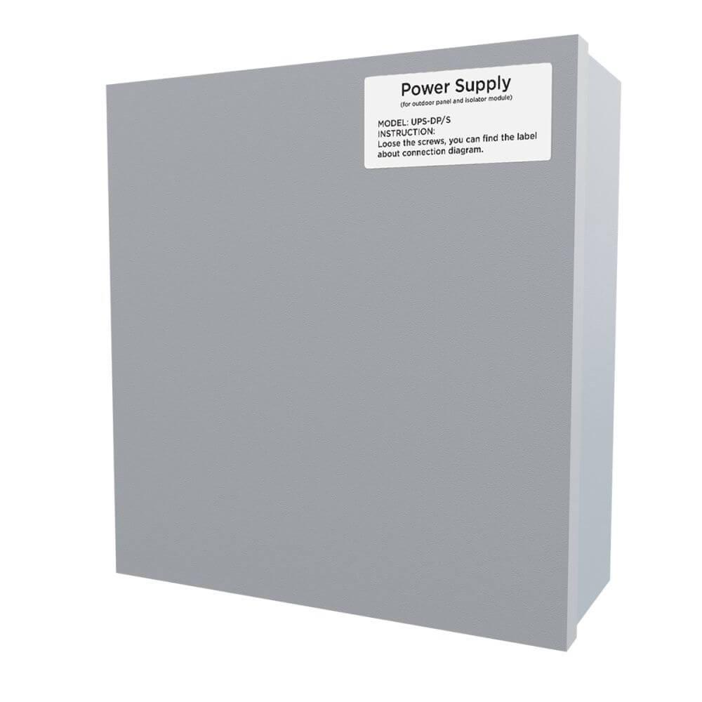 Бесперебойный блок питания Bas-IP UPS-DP/S для многоабонентских IP панелей вызова и IP-домофонов
