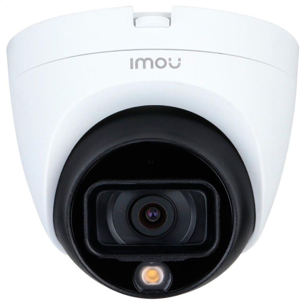 HDCVI видеокамера 2 Мп IMOU HAC-TB21FP (2.8 мм) со встроенным микрофоном для системы видеонаблюдения