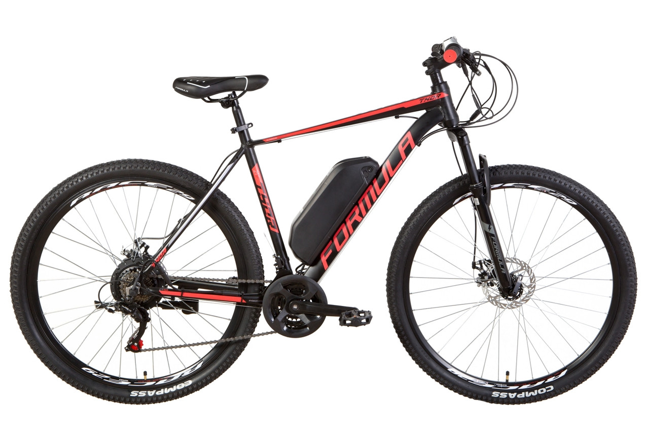 "Электровелосипед 29"" Formula THOR 1.0 рама-21"" 500Вт 48В редуктор. дисплей, САП, 12.5Ач с крепл. на раму,"