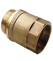 Латунний зворотний клапан для байпаса опалення 40
