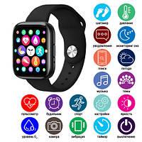 Розумні Smart Watch смарт фітнес браслет годинник трекер T99S на РУССОКОМ стиль Xiaomi SAMSUNG Apple Watch, фото 1