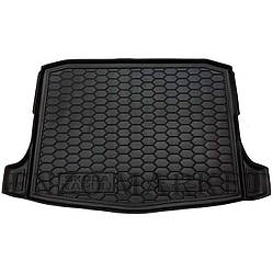 Автомобільний килимок в багажник Skoda Karoq 2018- (Avto-Gumm)