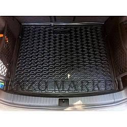 Автомобильный коврик в багажник Skoda Karoq 2018- полноразмерка (Avto-Gumm)