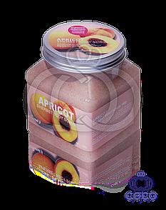 Цукрово-сольовий скраб для тіла Apricot Sherbet Body Scrub 99% з абрикосом 500 G