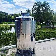 Ємність ЄВ-1500 для вина з люком та сорочкою охолодження