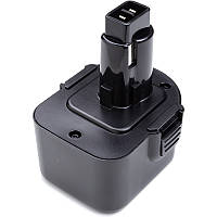 Аккумулятор PowerPlant для шуруповертов и электроинструментов BLACK&DECKER 12V 2.0Ah Ni-MH (A9252)