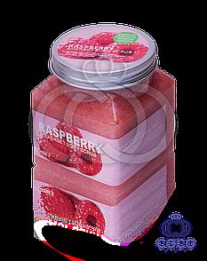 Цукрово-сольовий скраб для тіла Raspberry Sherbet Body Scrub 99% з малиною 500 G