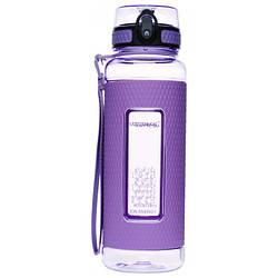 Пляшка для води з трітана UZSPACE 950 мл Diamond 5046 фіолетова