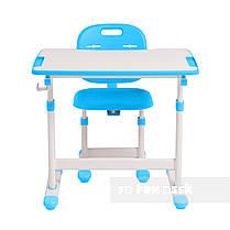 Комплект парта + стул трансформеры Omino Blue FunDesk, фото 2