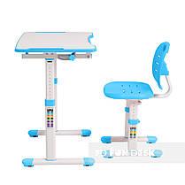 Комплект парта + стул трансформеры Omino Blue FunDesk, фото 3