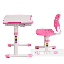 Комплект парта + стул трансформеры Omino Pink FunDesk, фото 3
