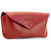 Футляр для очков кожаный Handycover HC0085 (красный)
