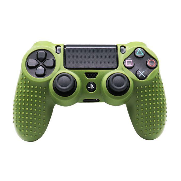 Силіконовий чохол для джойстика Sony PlayStation PS4 Type 5 Dark Green тех. пак