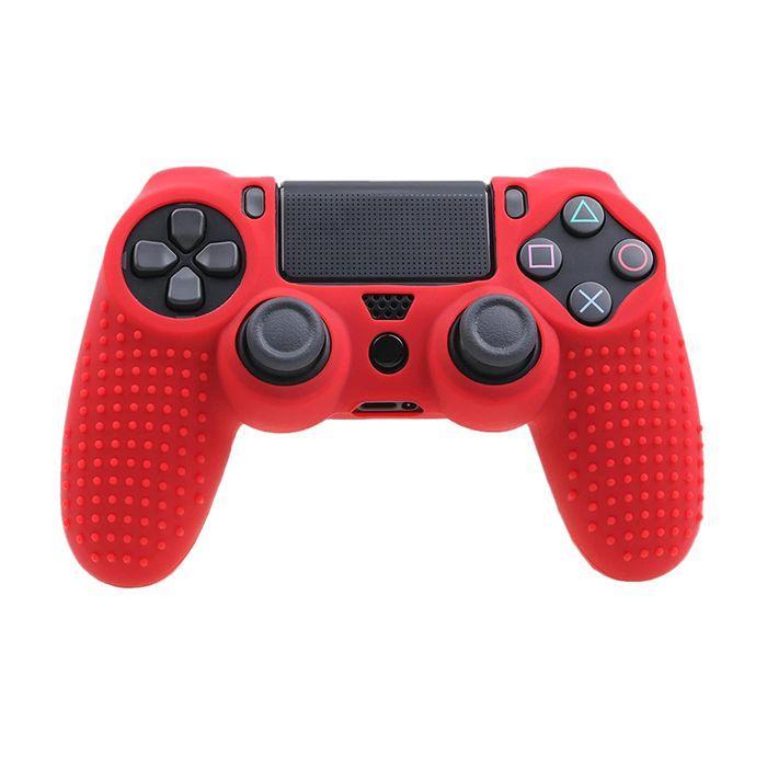 Силиконовый чехол для джойстика Sony PlayStation PS4 Type 5 Red тех.пак